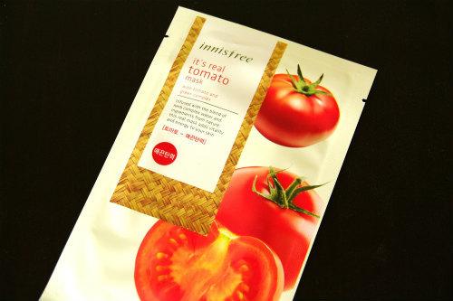 イニスフリー イッツリアル シートマスク トマト