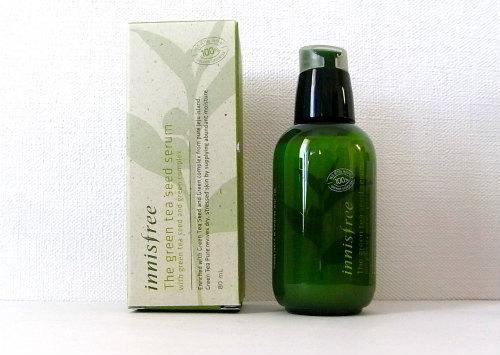 【イニスフリー】化粧水をグングン吸収するブースター美容液「ザ・GTS セラム (グリーンティー)」