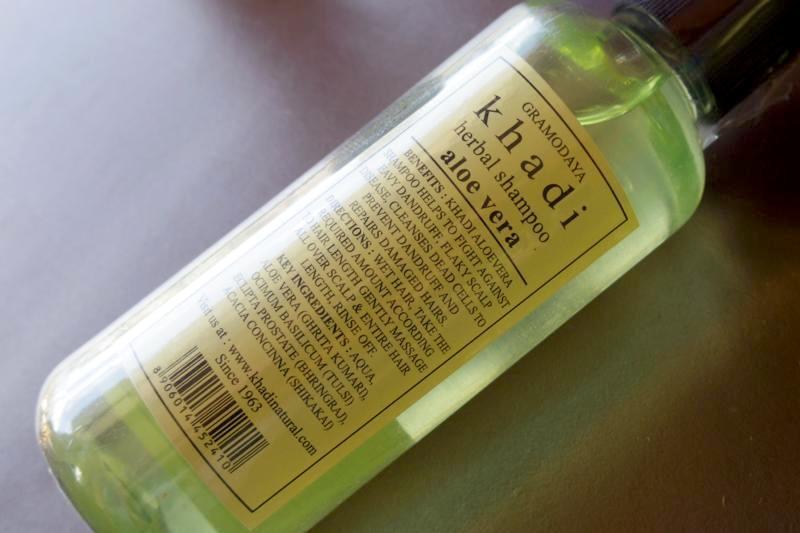 インドコスメ カディ/Khadi アロエベラシャンプー Aloe Vera Shampoo