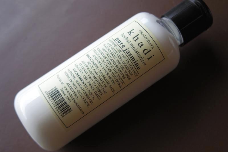 インドコスメ ドライスキン乾燥肌向け乳液 Khadi/カディナチュラル ピュアジャスミンモイスチャーリングローション Khadi Pure Jasmine Mosturising Lotion