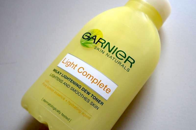 ロレアル系のガルニエシリーズ!美白とシミ対策の化粧水『ライトコンプリート』