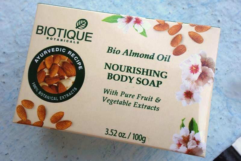 インド アーユルヴェーダコスメ Biotiqueバイオティーク アーモンドオイルソープBio Almond 石鹸保湿