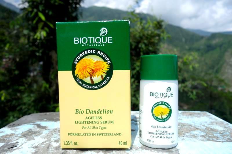 バイオティークBIOTIQUE アーユルヴェーダ 人気アンチエイジング美白ホワイントニング美容液 Bio Dandelion