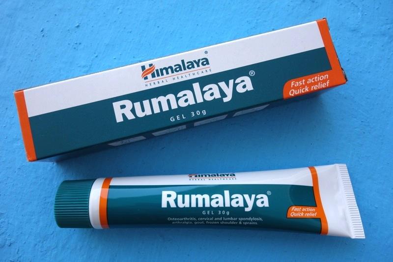 【ヒマラヤ】関節痛や筋肉痛の痛みを和らげる『Rumalaya(関節サポートジェル)』