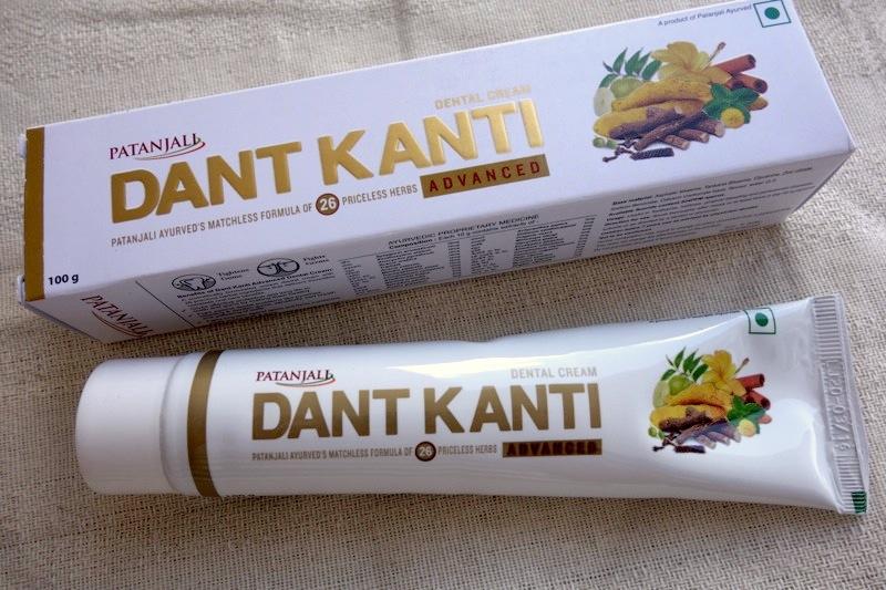 【パタンジャリ】26種類の無添加ハーブから作られた歯磨き粉『ダント カンティ アドバンスト』