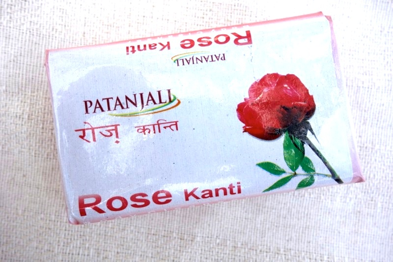 パタンジャリ patanjali 石鹸ソープ バラ薔薇 ローズカンティ(Rose Kanti)