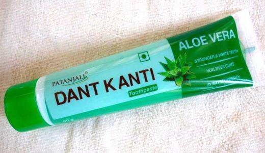 【パタンジャリ】 長時間細菌から保護し、歯周病を予防する「アロエベラ歯磨きジェル」