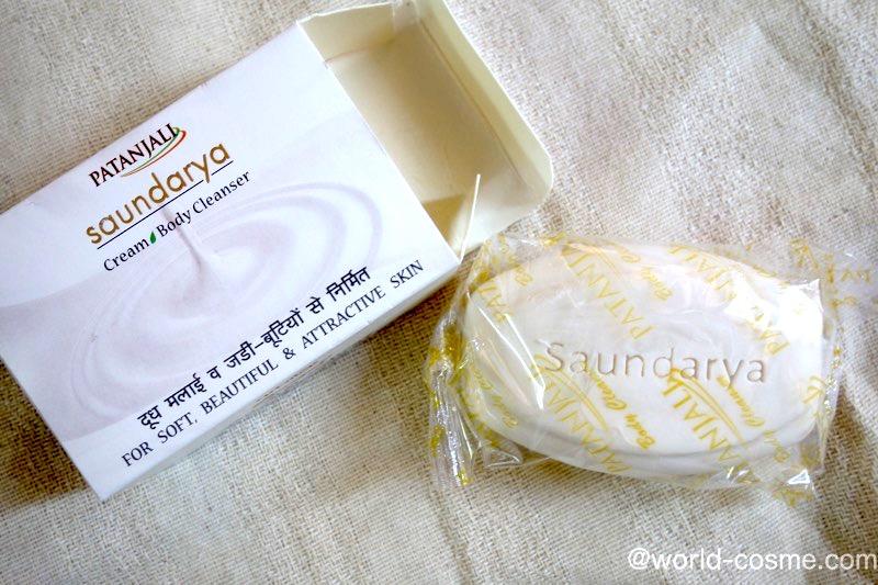 【パタンジャリ】肌をやさしく洗い、肌を白くなめらかにする「クリームボディークレンザー」