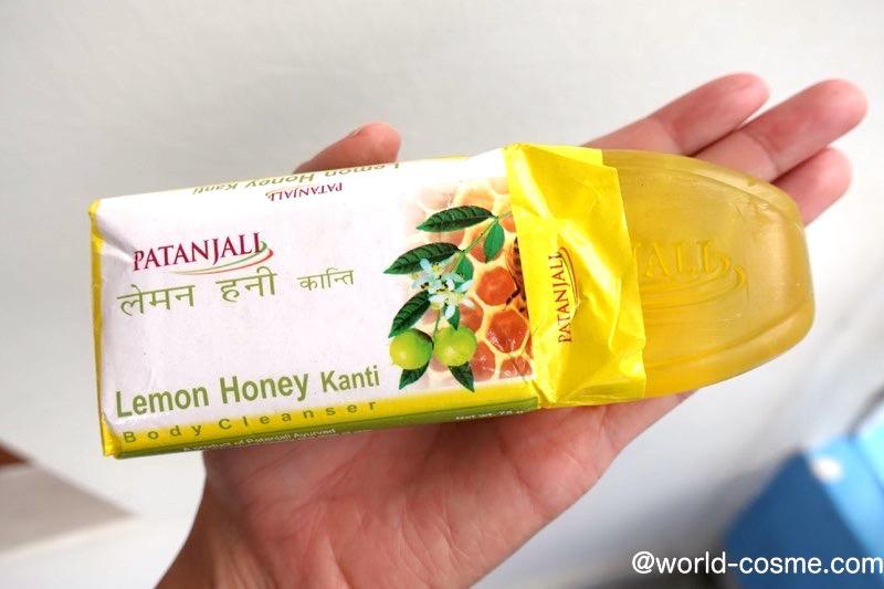 【パタンジャリ】夏に最適!さっぱりしつつ保湿効果もある「レモンハニーソープ」